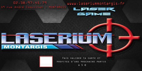 Préférence Laserium – Laser game Montargis » Carte D'Invitation Anniversaire ZN25